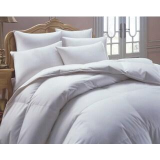 European Heritage Down Allure Oversized Hypoallergenic White Down Comforter