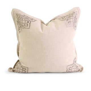 IK Chenoa Embroidered Down Filled Throw Pillow