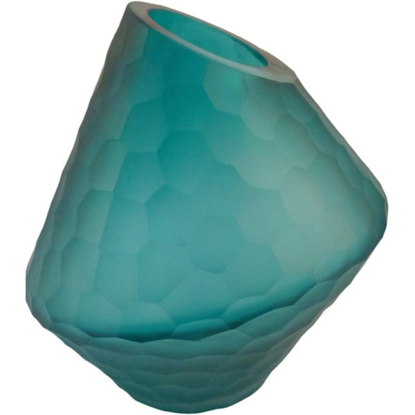 Aurelle Home Blue Short Vase