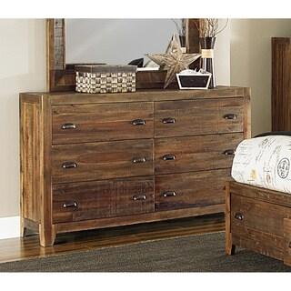 Magnussen River Ridge Wood 6-drawer Dresser