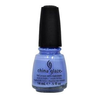 China Glaze 0.5-ounce Secret Peri-Winkle Nail Lacquer