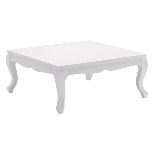 Verdun White Coffee Table