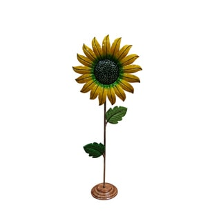 Metal Sunflower Garden Decor - Medium