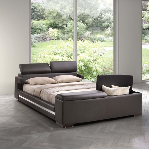 Zuo Truffaut Wood Bed