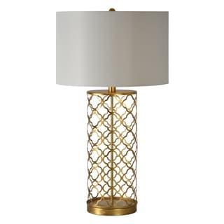 Stardust Single-light Gold Leaf Table Lamp