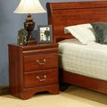 Sandberg Furniture Maurice Cherry Finish 2-drawer Nightstand