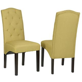 Cortesi Home Perri Camelback Dining Chair (Set of 2)