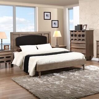 Vanda Charcoal Grey/ Sicilian Black Queen Bed