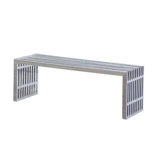 Zeta Stainless Steel Long Bench