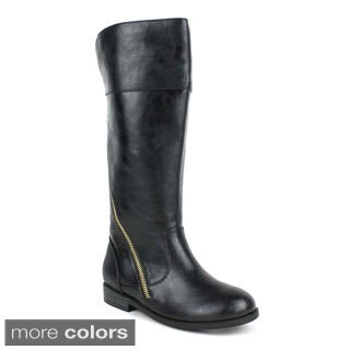 Telso Kid's 'Beautiful-09' Mid-calf Riding Boots