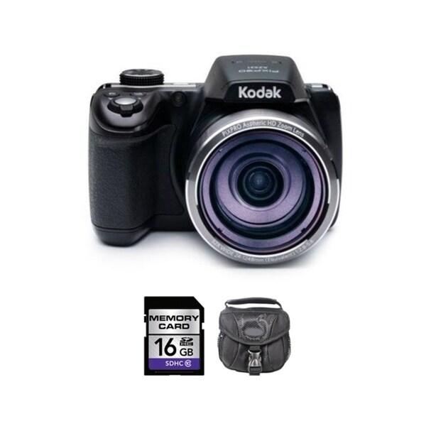 Kodak Pixpro Astro AZ521 16.4 MP Black Digital Camera