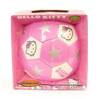 Hello Kitty Size 3 Pink Soccer Ball