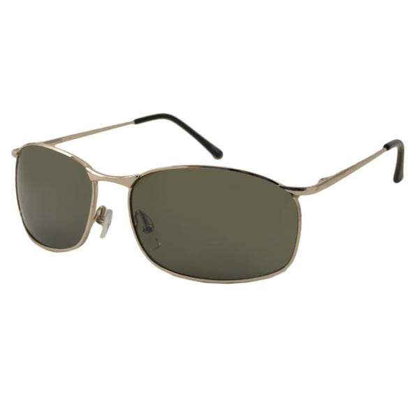 Urban Eyes Men's City Driver Rectangular Sunglasses