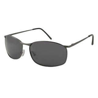 Urban Eyes Men's City Driver Rectangular Sunglasses
