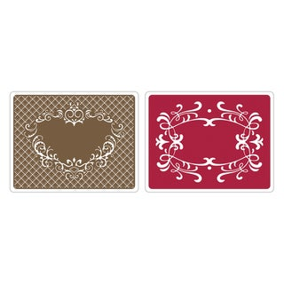 Sizzix Textured Impressions Heart/ Ornate Frames Embossing Folders by Stu Kilgour (2 Pack)