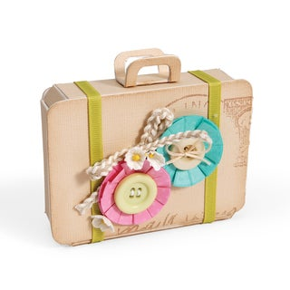 Sizzix ScoreBoards Bag/ Suitcase XL Die by Eileen Hull