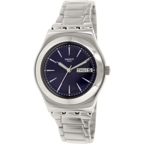 Swatch Women's Irony YLS713G Silvertone Stainless Steel Swiss Quartz Watch