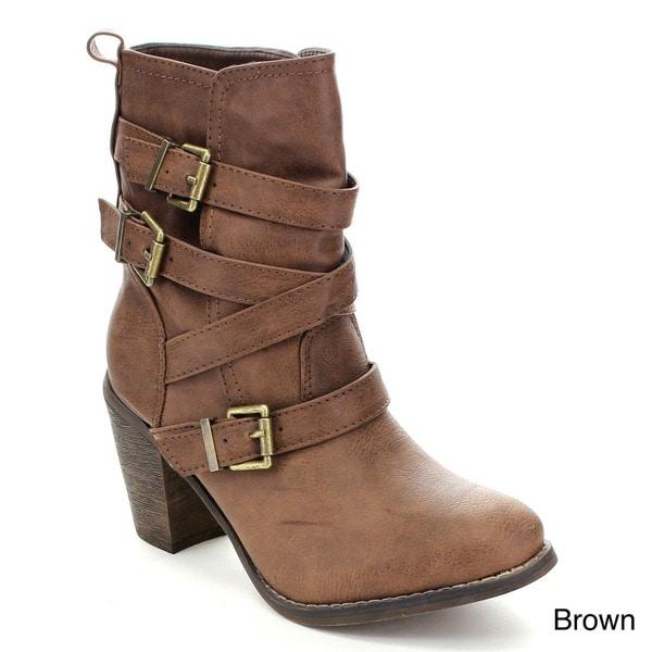 fashion focus jacky 2 s pull on western mid calf