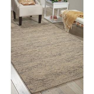 Nourison Sterling Grey Wool Area Rug (4' x 6')