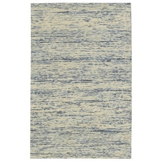 Nourison Sterling Ocean Wool Area Rug (5' x 7'6)