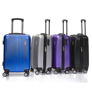 English Laundry 20-inch Carry On Hardside Spinner Upright Trolley Suitcase