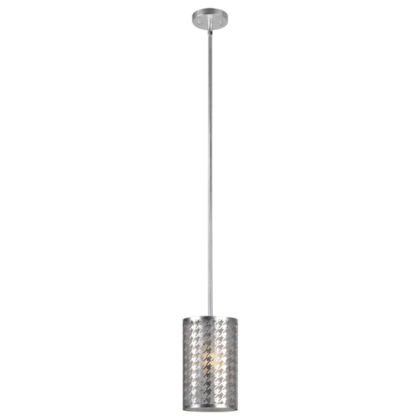 Seaworth Single-light Silver Ceiling Fixture
