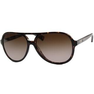 Coach Women's 'HC 8073 Daisy 512013' Aviator Sunglasses