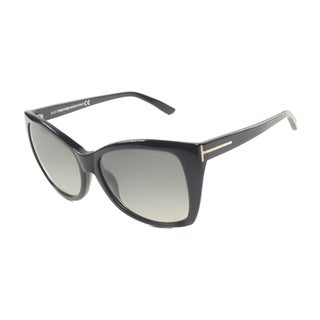Tom Ford Women's 'TF295 Carli 01B' Cat Eye Sunglasses