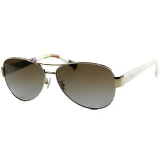 Coach Women's 'HC 7003 Kristina 9051T5' Aviator Sunglasses