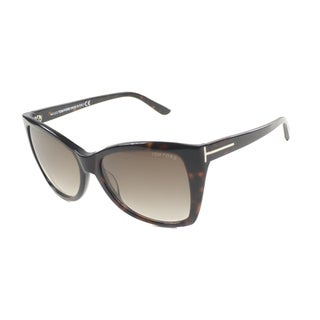 Tom Ford Women's 'TF295 Carli 52F' Cat Eye Sunglasses