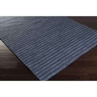 Hand-Woven Bernie Solid Wool Area Rug (8' x 11')