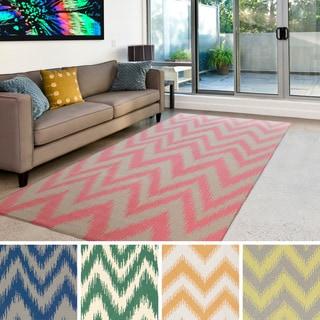 Flatweave Sevran Wool Rug (8' x 11')