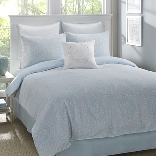 Stone Cottage Moore 100% Cotton Sateen 4-Piece Comforter Set