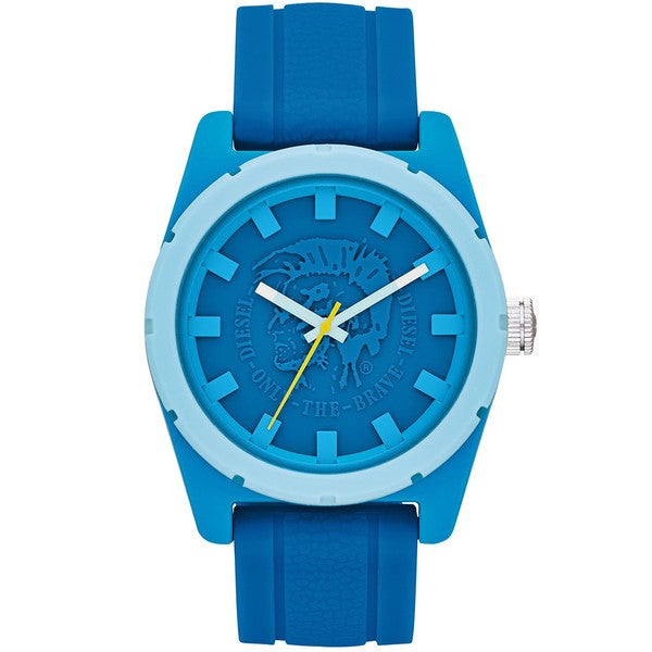 Diesel Men's DZ1592 Blue Silicone Strap Watch