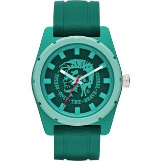 Diesel Men's Stainless Steel Mohawk Green Dial Watch