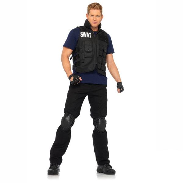 Leg Avenue Men's Swat Commander 4-piece Costume (One Size)