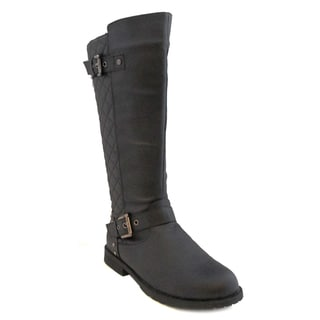 Olivia Miller Women's 'Shelby' Black Riding Boots