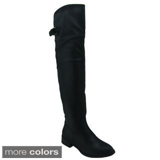 Olivia Miller Women's 'Erika' Over-the-Knee Riding Boots