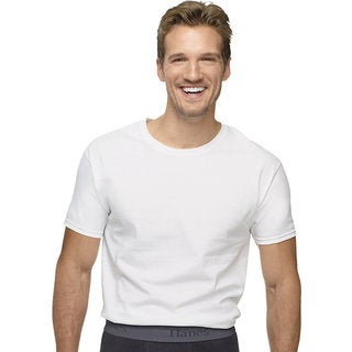 Hanes Ultimate X-temp White Crew Undershirt (Pack of 3)