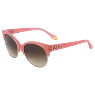 Juicy Couture Women's 'JU 564/S 0JMB Y6' Pink Studded Sunglasses