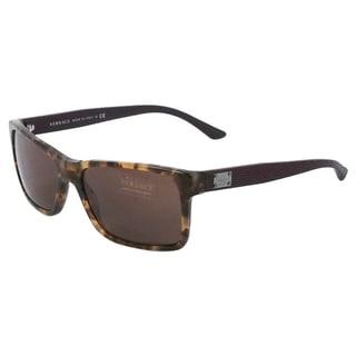 Versace Men's 'VE 4274 5110/73' Havana Hazelnut Sunglasses