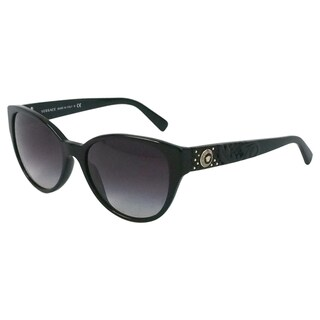 Versace Women's 'VE 4272 GB1/8G' Oval Fashion Sunglasses