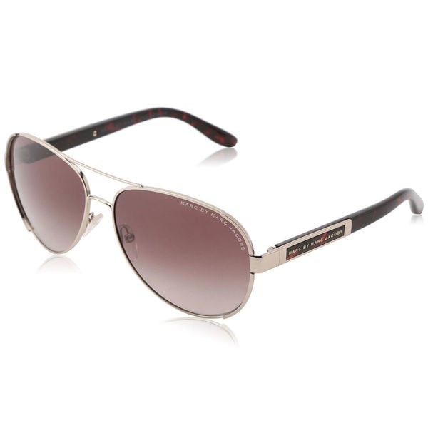 Marc Jacobs Unisex 'MMJ 378/S CCBHA' Light Gold Aviator Sunglasses