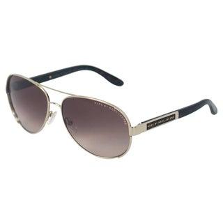 Marc Jacobs Unisex 'MMJ 378/S CCBHA' Light Gold Aviator Sunglasses