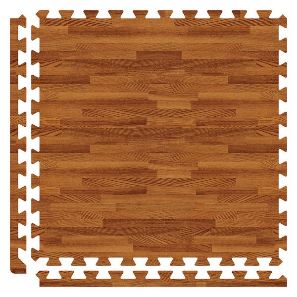 SoftWoods Floor Tile Set - Dark Oak