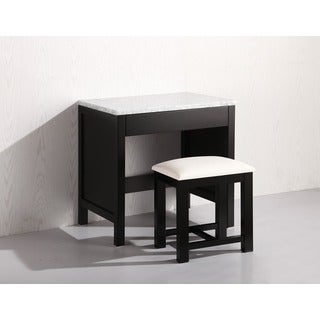 Design Element Make-up Table in Espresso