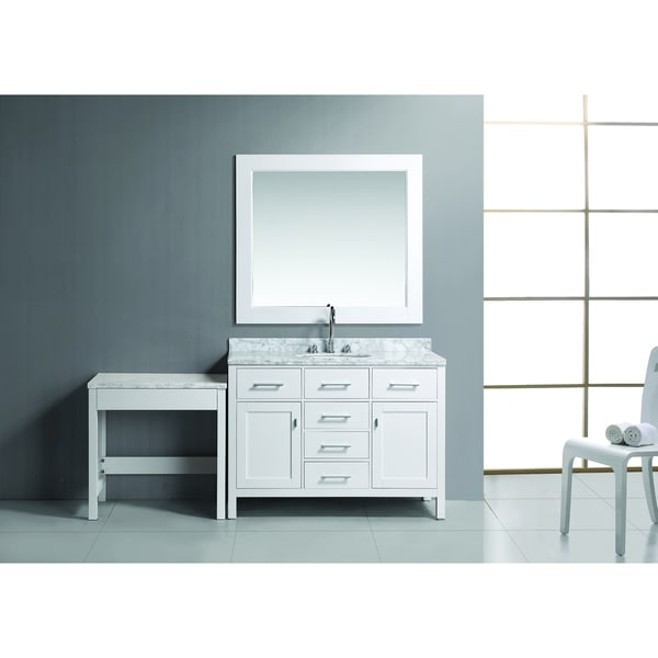 Design Element London 48 Inch Single Sink Vanity Set 16695786 Overstock S