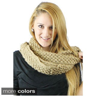 Le Nom Textured Infinity Scarf