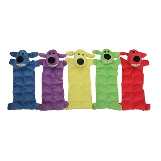 Multipet Loofa 12-inch Squeak Mat Dog Toy