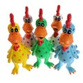 Multipet Latex Globkins Chicken Dog Toy